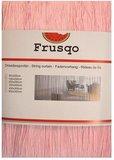 Frusqo draadjesgordijn lichtroze 100x250cm_