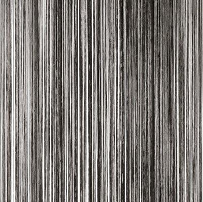 Frusqo draadjesgordijn zwart 300x300cm