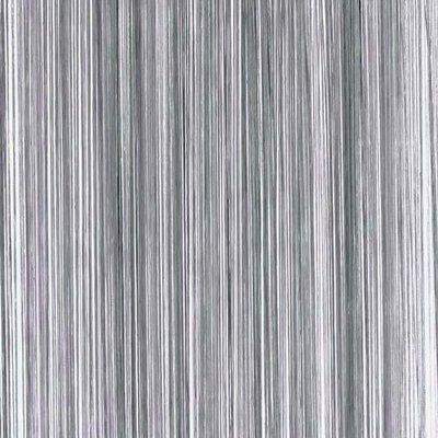 Frusqo draadjesgordijn antraciet grijs 100x250cm