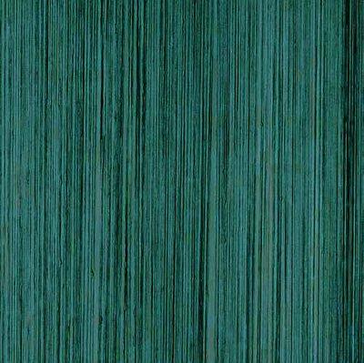 Frusqo draadjesgordijn peacock groen 100x250cm