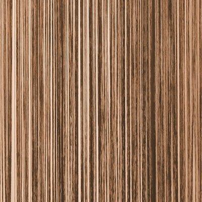 Frusqo draadjesgordijn bruin 90x200cm