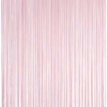 Frusqo draadjesgordijn lichtroze 100x250cm