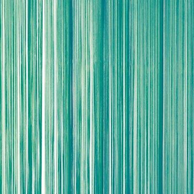 Frusqo draadjesgordijn zeegroen 90x200cm