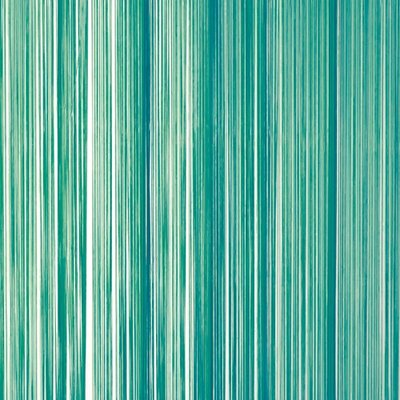 Frusqo draadjesgordijn zeegroen 100x250cm