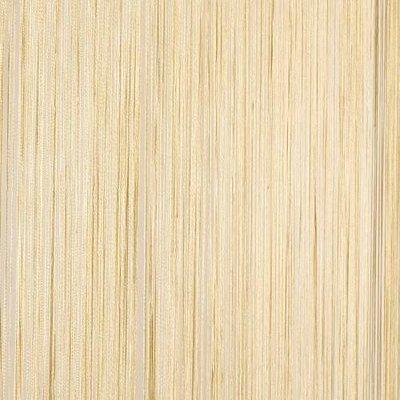 Frusqo draadjesgordijn beige 90x200cm
