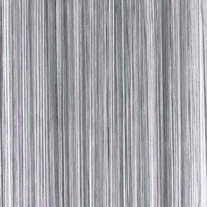 Frusqo draadjesgordijn antraciet grijs 90x200cm