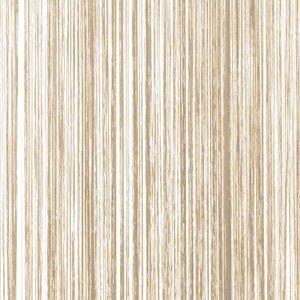 Frusqo draadjesgordijn beige-bruin 100x250cm