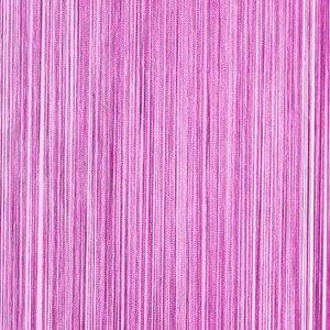 Frusqo draadjesgordijn violet 100x250cm