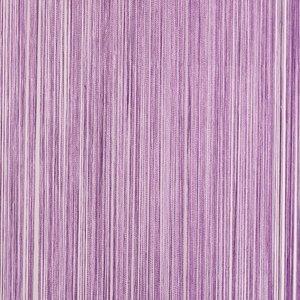 Frusqo draadjesgordijn lavendel 100x250cm